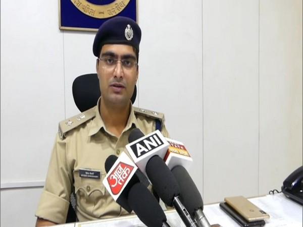Hitesh Choudhary, Superintendent of Police, Mandsaur. Photo/ANI