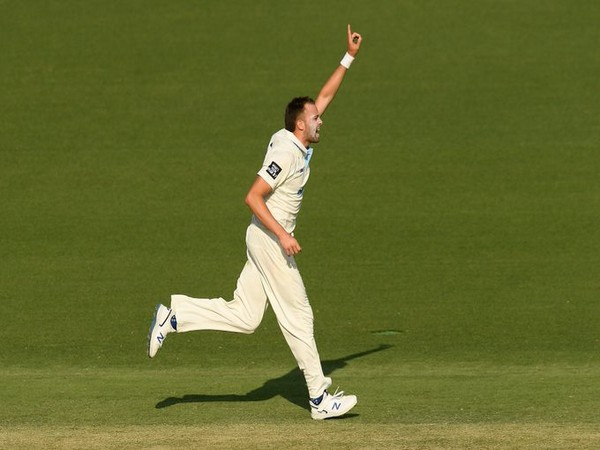 Pacer Harry Conway (Photo/ cricket.com.au Twitter)