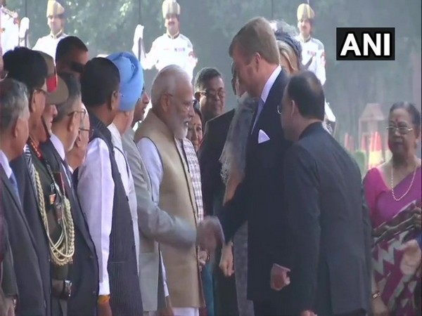 Prime Minister Narendra Modi meeting The King of The Netherlands, Willem-Alexander on Monday