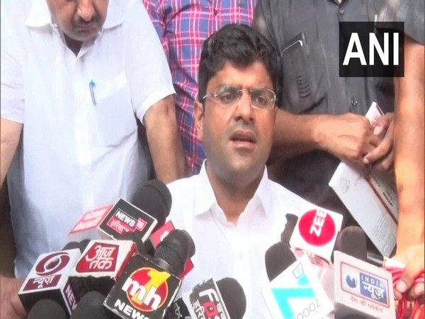 JJP Chief Dushyant Chautala (File Photo/ANI)