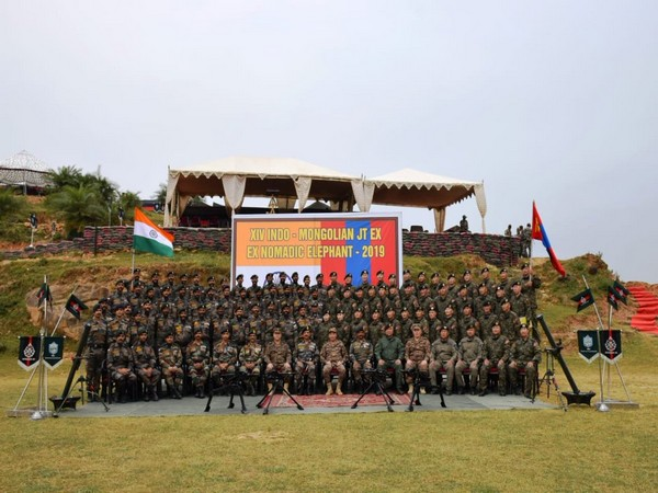 Joint military training exercise between Indian Army and Mongolian Army code named 'EX NOMADIC ELEPHANT 2019' concluded on Friday.