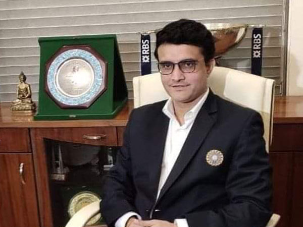 39th BCCI President Sourav Ganguly (Photo/ Sourav Ganguly Twitter)
