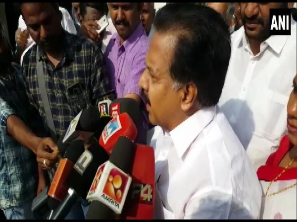 Kerala Congress leader Ramesh Chennithala speaking to media persons on Friday (Photo/ANI)