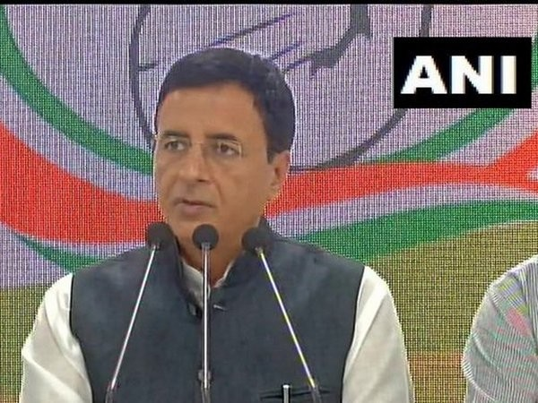Congress leader Randeep Singh Surjewala (File photo)