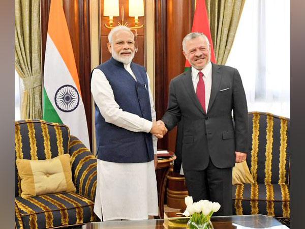 Prime Minister Narendra Modi meets King of Jordan Abdullah II