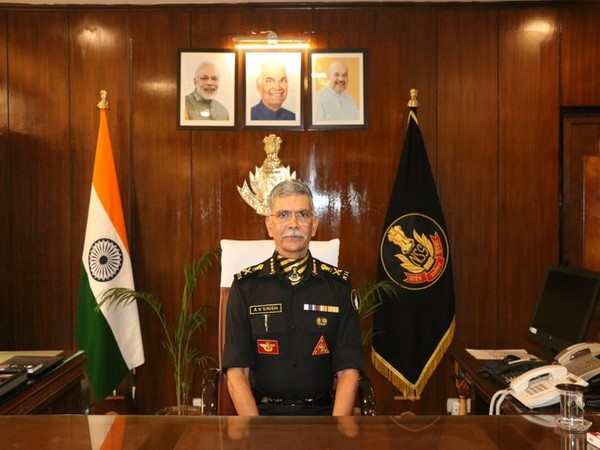 National Security Guard (NSG) Director General (DG) Anup Kumar Singh (File photo)
