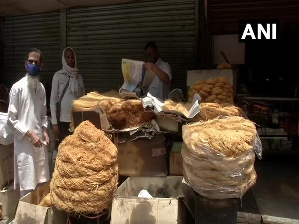 Shops awaiting customers for Eid shopping in Delhi