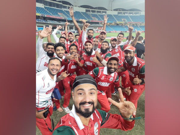 Oman cricket team (Photo/ T20 World Cup Twitter)