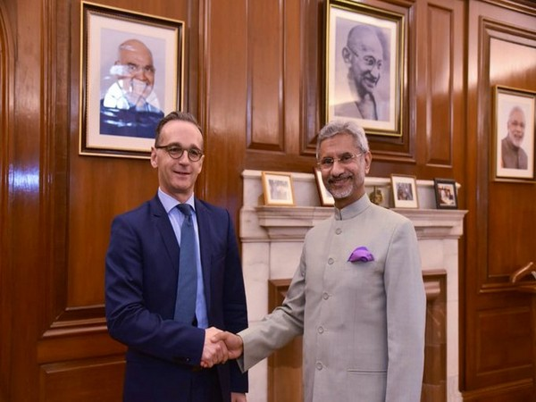 External Affairs Minister S Jaishankar on Friday held a meeting with his German counterpart Heiko Mass