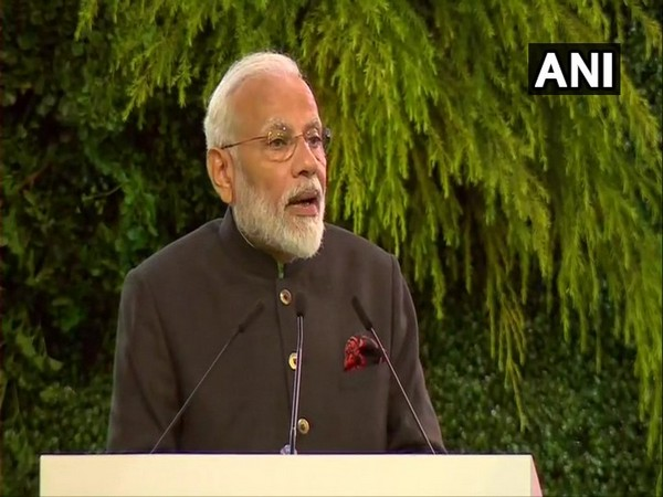Prime Minister Narendra Modi addressing an event in Thailand on Sunday. Photo/ANI