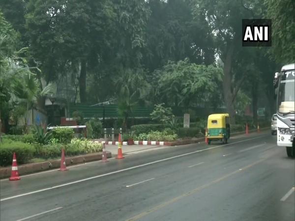 Delhi received light rain showers on Thursday [Photo/ANI]