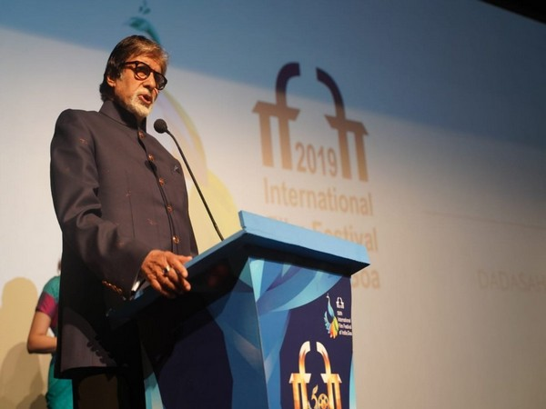 Amitabh Bachchan feels ' honoured' on completing his Bollywood golden jubilee with IFFI's 50 years