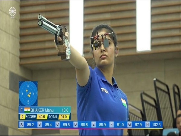 Shooter Manu Bhaker (Photo/ SAI Media Twitter)