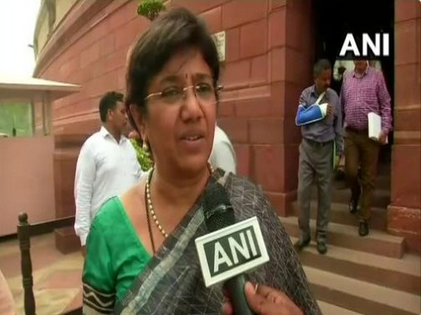 Nationalist Congress Party MP Vandana Chavan (File photo)