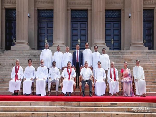 Sri Lanka new cabinet. Picture courtesy: Gotabaya Rajapaksa twitter
