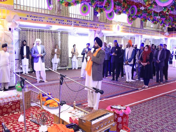 The celebration was attended by officers and a large number of community members. Indian Ambassador to Afghanistan Vinay Kumar addressed the Sangat.