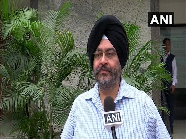 BS Dhanoa, former chief of the Air Staff speaking to ANI in New Delhi on Thursday. Photo/ANI