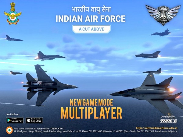 'Indian Air Force: A Cut Above' video game.