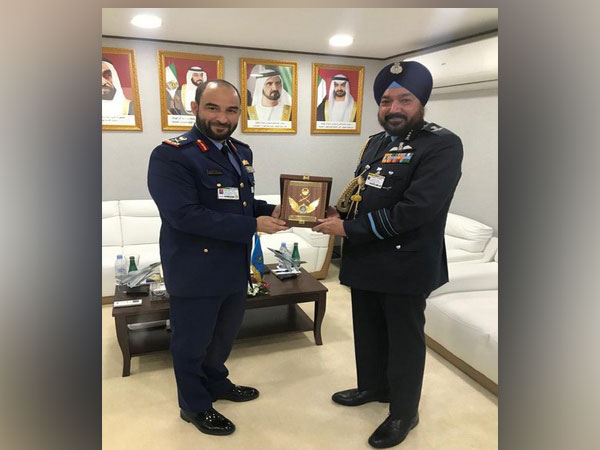 Bilateral talks between India and UAE were held on Tuesday [Photo courtesy- IAF/Twitter]