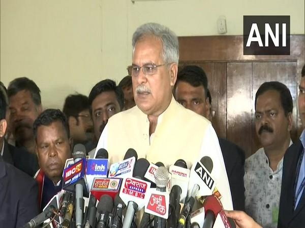 Chhattisgarh Chief Minister Bhupesh Baghel. Photo/ANI