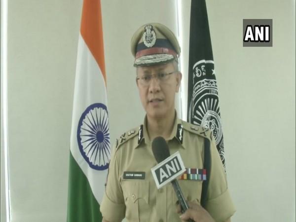 Andhra Pradesh Director General of Police (DGP) Gautam Sawang speaking to ANI on Tuesday. (Photo/ANI)