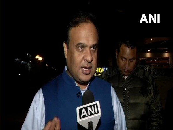 NEDA convener Himanta Biswa Sarma speaking to ANI in New Delhi on Wednesday.(Photo/ANI)