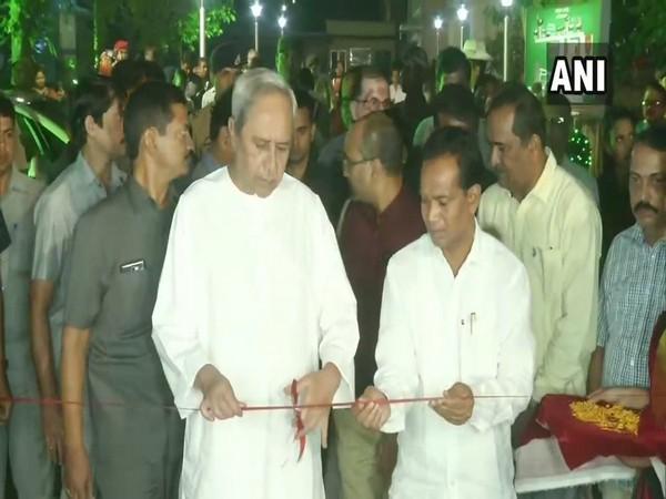 Odisha Chief Minister Naveen Patnaik inaugurates National Tribal Craft Mela - 2019 in Bhubaneswar on Saturday. Photo/ANI