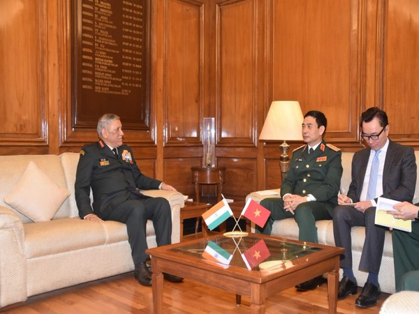 Army Chief General Bipin Rawat on Monday met Vietnam Chief of the General Staff General Phan Van Giang