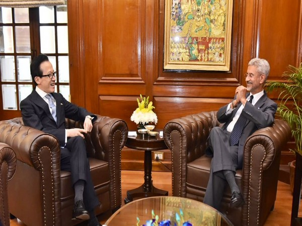 External Affairs Minister S Jaishankar on Monday met Japanese National Security Advisor Shigeru Kitamura (R)