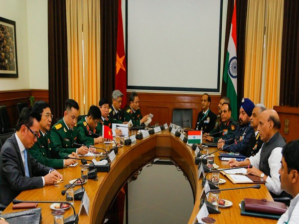 Defence Minister Rajnath Singh holds talks with Vietnam's Chief of the General Staff General Phan Van Giang