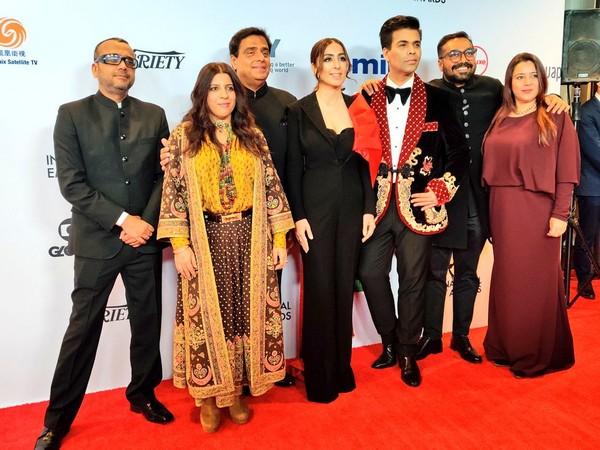 'Lust Stories' team grace red carpet at International Emmy Awards!