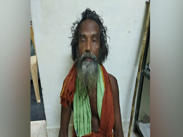 Two kilogram of cannbis was seized from his possession. Photo/ANI