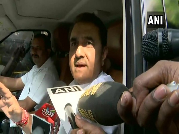 NCP leader Praful Patel speaking to media persons on Thursday (Photo/ANI)