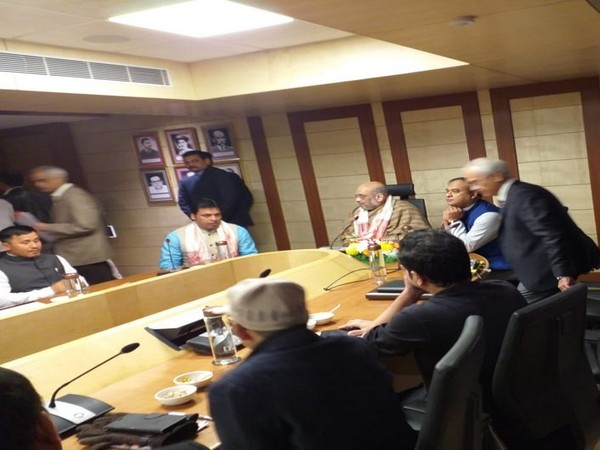 Home Minister Amit Shah chairing the meeting on Friday