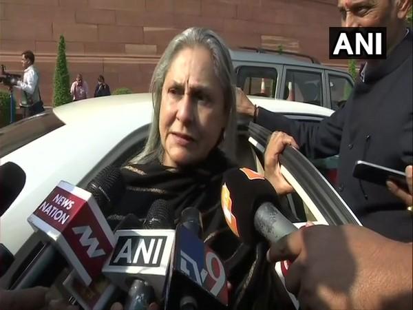 Rajya Sabha MP Jaya Bachchan (File photo)