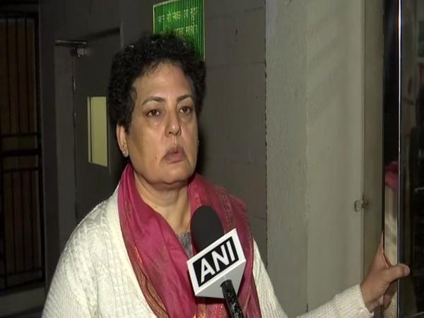 NCW chairperson Rekha Sharma talking to ANI in New Delhi on Thursday. Photo/ANI