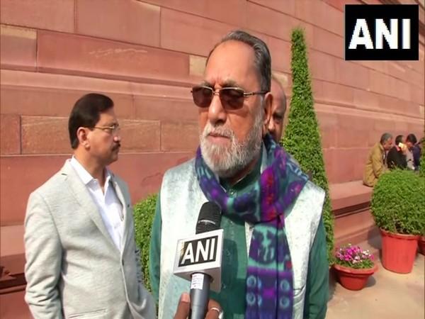 Congress leader Husain Dalwai speaking to ANI on Friday. Photo/ANI