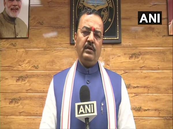 UP Deputy Chief Minister Keshav Prasad Maurya