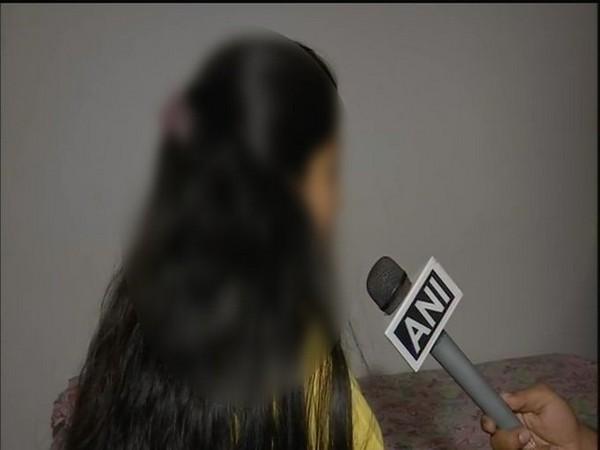 Telangana veterinary doctor's sister speaking to ANI on Saturday. Photo/ANI