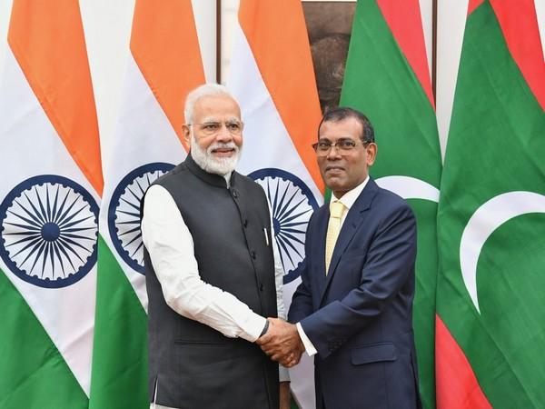 Speaker of People's Majlis Mohamed Nasheed called on Prime Minister Narendra Modi in New Delhi on Friday.
