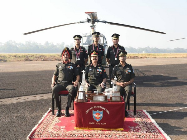 The valedictory ceremony was held at Combat Army Aviation Training School. (Photo tweeted by Indian Army)