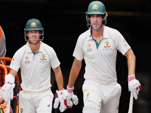 Australia openers David Warner and Joe Burns in action against New Zealand (Photo/ cricket.com.au Twitter)