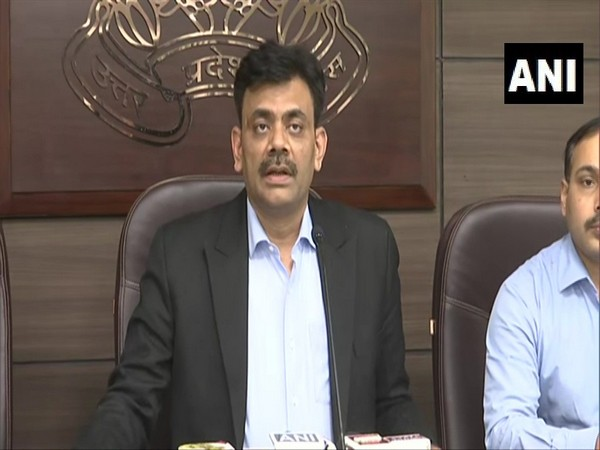 UP Inspector General (Law and Order) Praveen Kumar speaking to media on Saturday. Photo/ANI