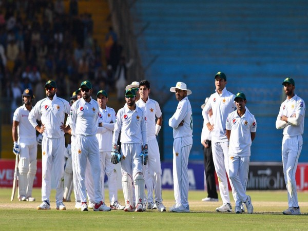 Pakistan cricket team in action against Sri Lanka (Photo/ PCB Twitter)
