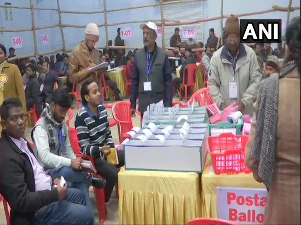 Counting of votes is underway for Jharkhand election. Photo/ANI