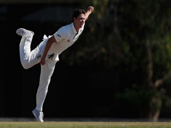 Australia spinner Mitchell Swepson (Photo/ Cricket Australia Twitter)