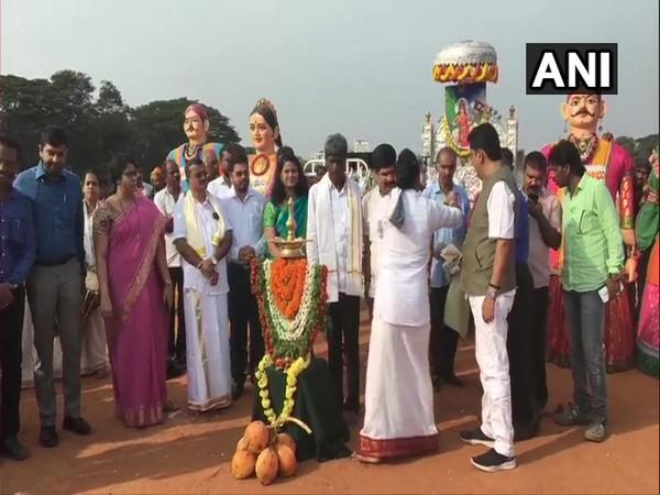Karavali Utsav begins in Mangaluru on Friday. Photo/ANI