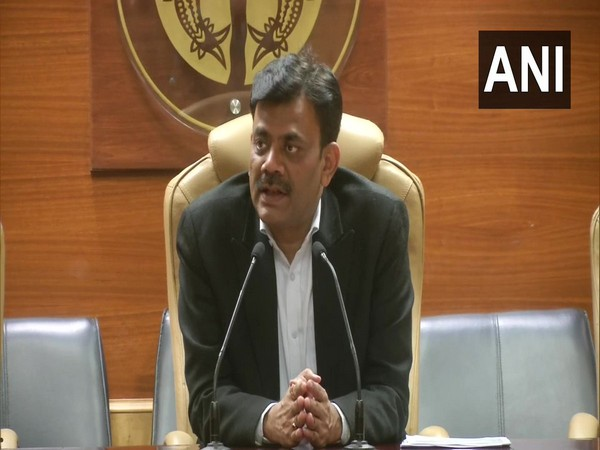 Praveen Kumar, IG, Law and Order, Uttar Pradesh, speaking at a press conference in Lucknow on Wednesday. Photo/ANI