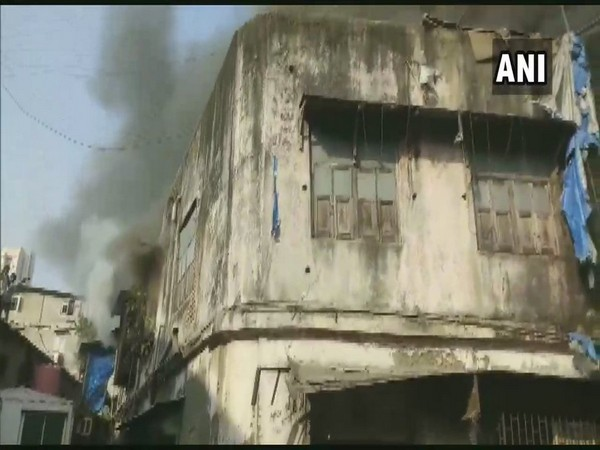 Building in Kamathipura area where the fire broke out (Photo/ANI)