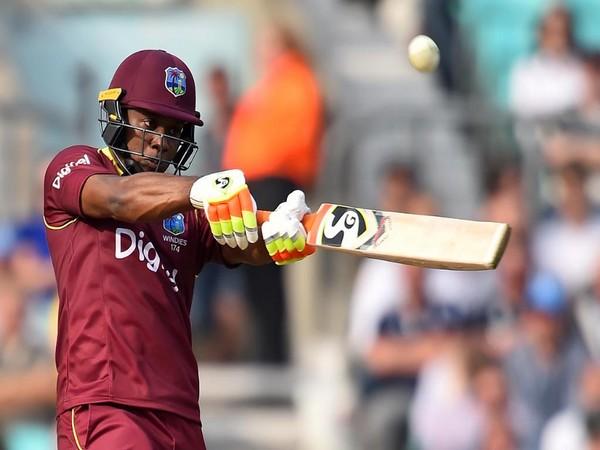 West Indies batsman Evin Lewis (Photo/ ICC Twitter)